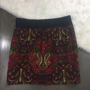 Anthropologie Idra corduroy skirt